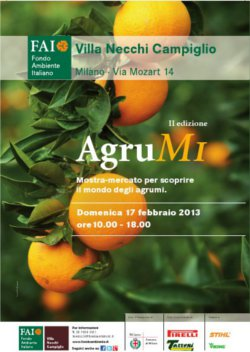 AgruMi, mostra-mercato sugli agrumi a Milano