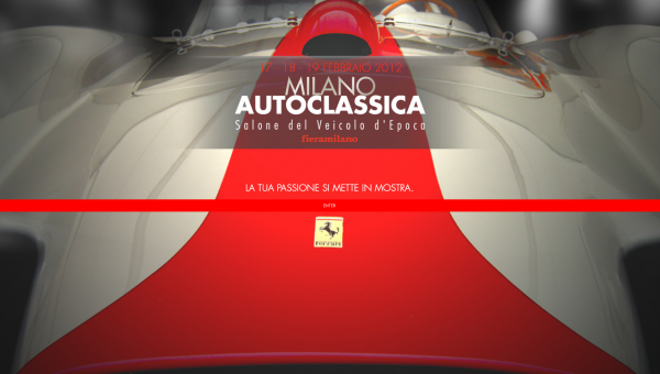 Milano Auto Classica 2013